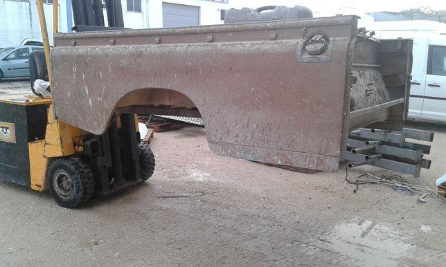 Caixa carga Land Rover 109 serie