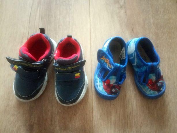 Oddam 2 pary butów, roz. 22  i stroje na zime 86/92