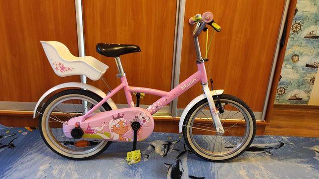 дитячий велосипед для дiвчинки Btwin princess 16