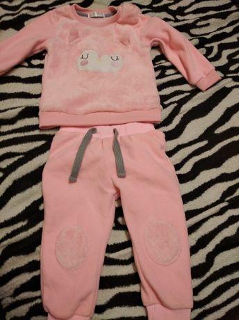 Bluza i spodnie roz. 80