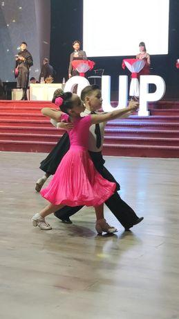 Рейтинговое платье с двумя юбками, цвет Pink Fizze