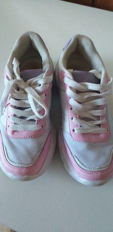Buty sportowe ala snikersy dla dziewczynki