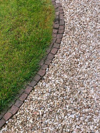 Kamień ogrodowy dekoracyjny GRYS BIAŁY 8-16mm