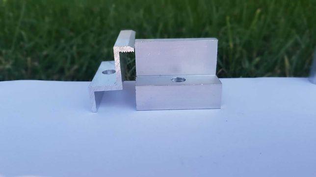 Прижим концевой 35мм / крепление для солнечных батарей / панелей