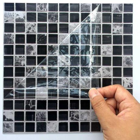 [NOVO] Decoração cozinha adesivo azulejo mosaico parede - 50 peças
