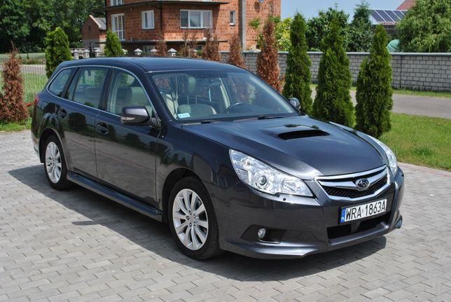 Subaru Legacy V 2.0 benzyna + nowy LPG 2010 rok 4x4 AWD ZADBANA