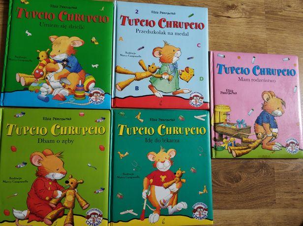 Tupcio Chrupcio - sztywne, duże książki