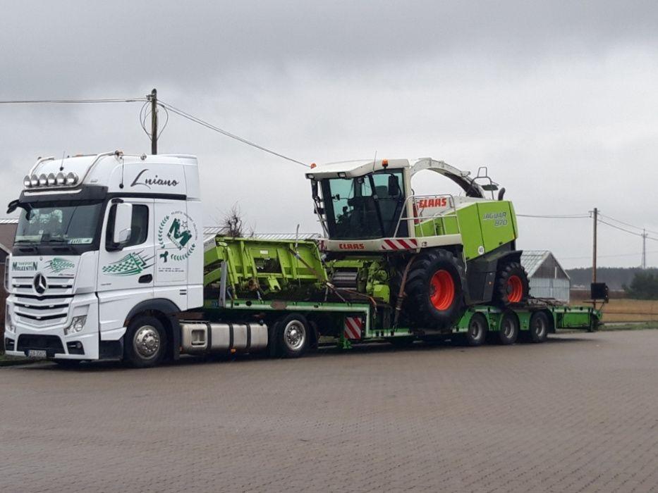 Transport maszyn rolniczych Ciągnik Traktor Kombajn Sieczkarnia Tanio Sieradz - image 1