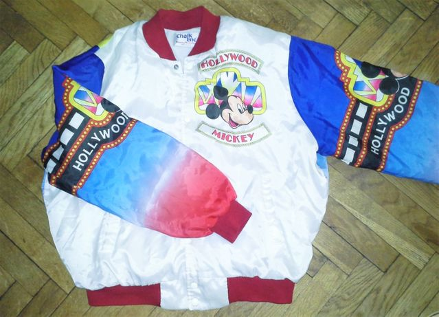 Kurtka Bobmberka Vintage Mickey Mouse Hollywood Chalk Line / Oldschool