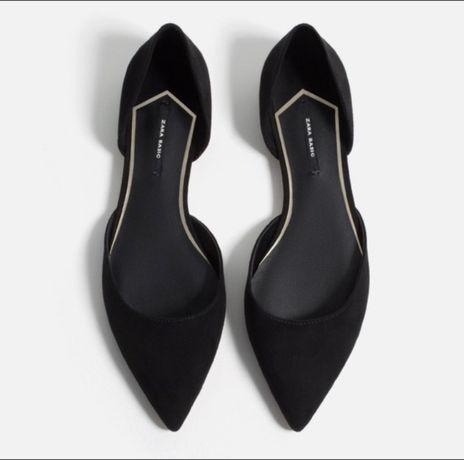 Туфли балетки Zara H&M