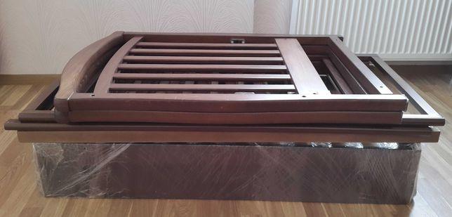 Кроватка Верес ЛД6, маятник с ящиком + матрас