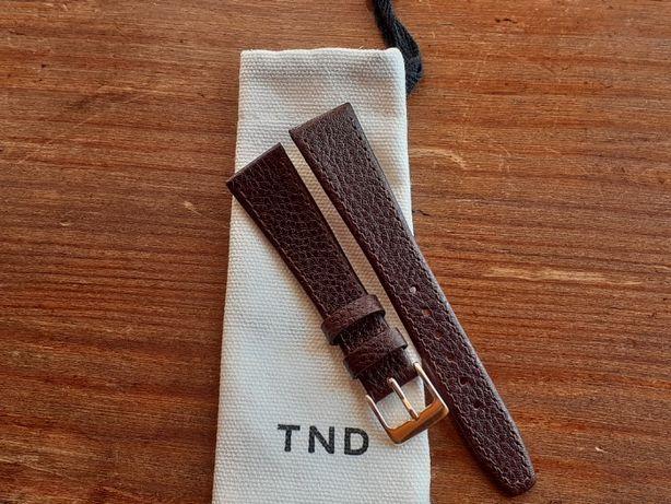 Bracelete de qualidade em pele verdadeira 19 mm NOVA.