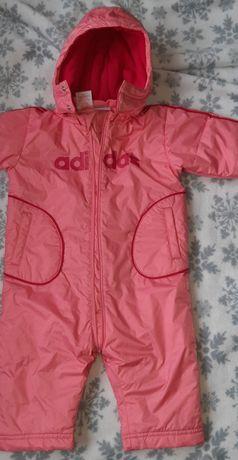 Zimowy kombinezon dla dziewczynki Adidas 80 12 miesięcy różowy