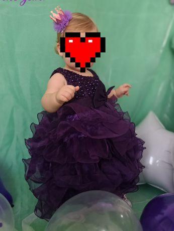 Детское праздничное платье на годик