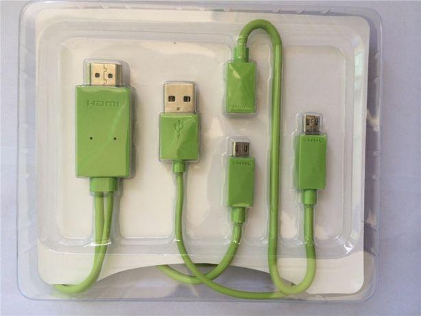 Adapter MHL micro USB HDMI 5 i 11 PIN W-wa