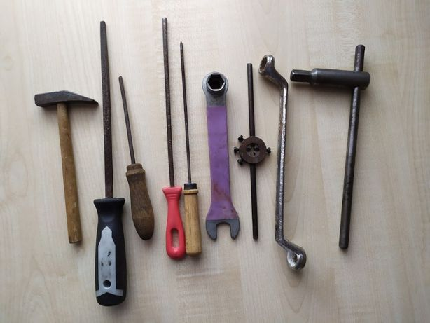 zestaw narzędzi, 9 sztuk, cena za całość