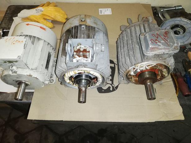 Электродвигателя 1,1квт на 1500об, 2,2 квт на 1500об, 1,5квт на 1000об