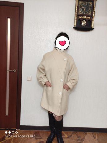 Пальто кашемир, размер 48-50