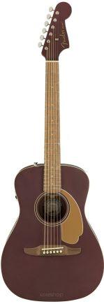 Fender Malibu Player Burgundy Satin WN - gitara elektroakustyczna