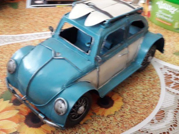 Model Metalowy Duża  Replika Samochodu Volkswagen Garbus
