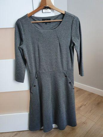 Szara sukienka Reserved r.M