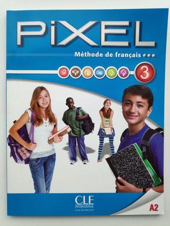 Методика Pixel 3, французский язык. Учебник+тетрадь+диск