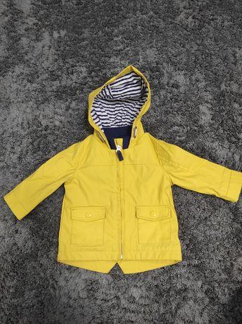 Курточка з шкірзамінника 3-6 місяців