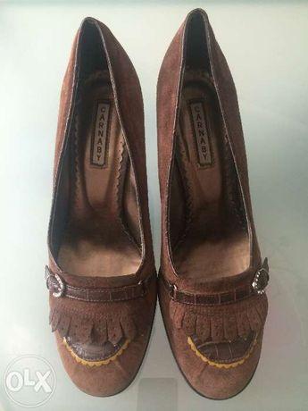 Замшевые женские туфли CARNABY
