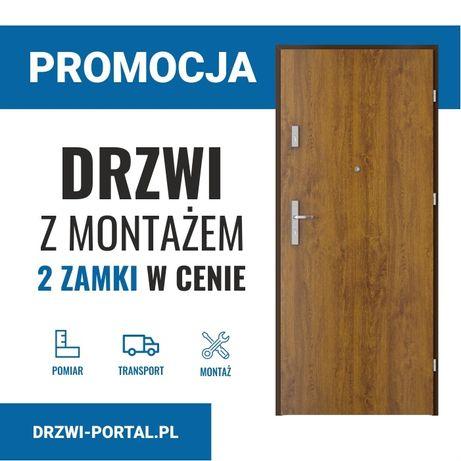 PROMOCJA! Drzwi wejściowe/wewnątrzklatkowe/zewnętrzne/do mieszkania!!!