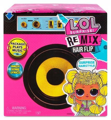 Кукла LOL. Surprise Remix Hair Flip - Лол Ремикс Музыкальный Сюрприз