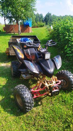 Sprzedam quad ATV Bashan zamiana na motor