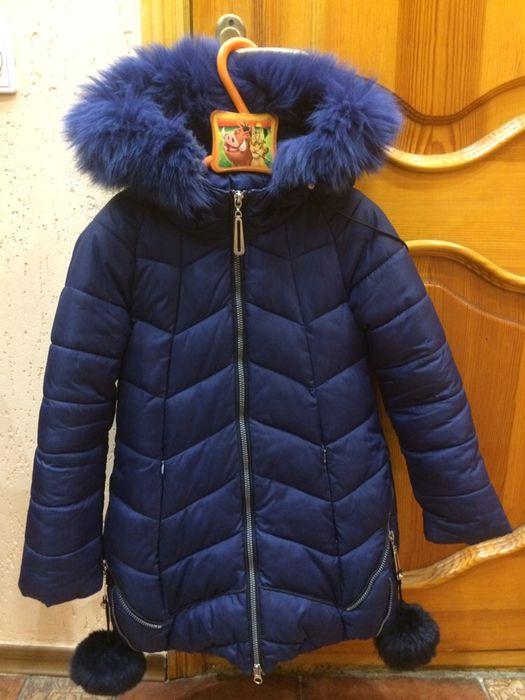 Продам зимнюю куртку для девочки Лелюки - изображение 1