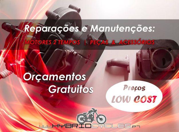 Reparações e Manutenção - Bicicletas a motor Bina