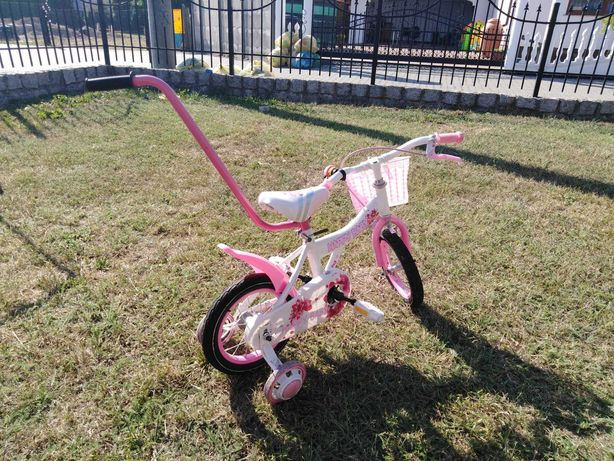 Rowerek dziecięcy dla dziewczynki różowy