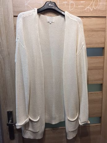Długi sweter r44