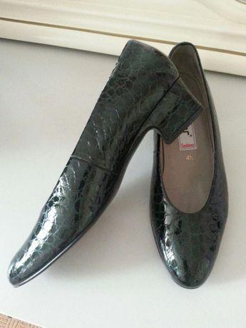 Туфли женские Gabor из кожи крокодила