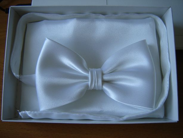 Ślub, wesele, męska muszka