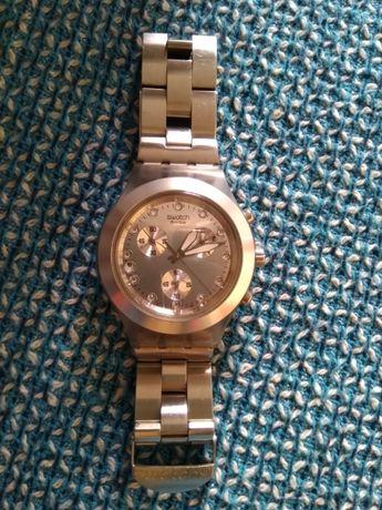 Relógio Swatch cinzento para senhoa