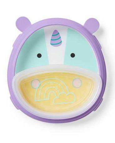 Замечательная детская тарелочка 2 в 1 от Skip Hop.