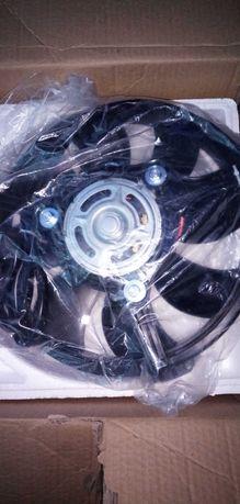 Новый электровентилятор охлаждения в сборе Аudi,Seat,Skoda,VW