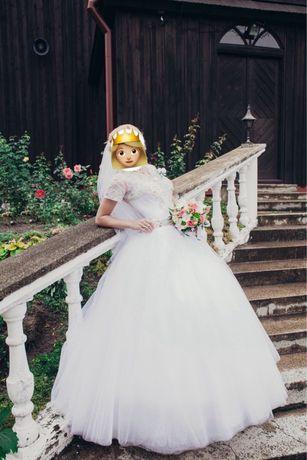 Продам свадебное платье «Принцесса»
