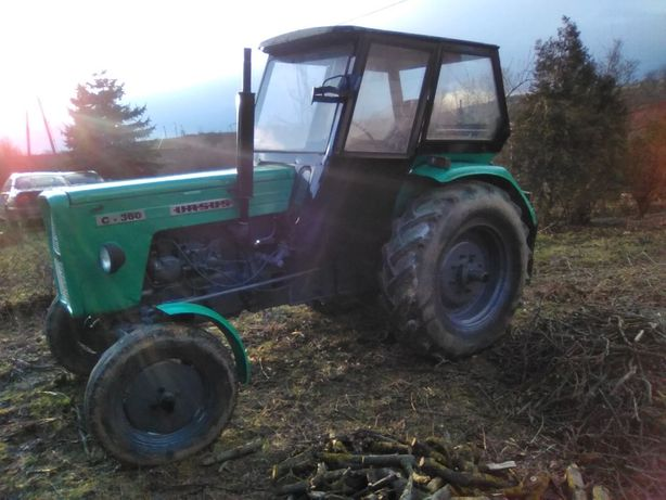 Ursus C360 C330Kabina Szeroka Komfortowa Duża Skup Ciągniki Traktory