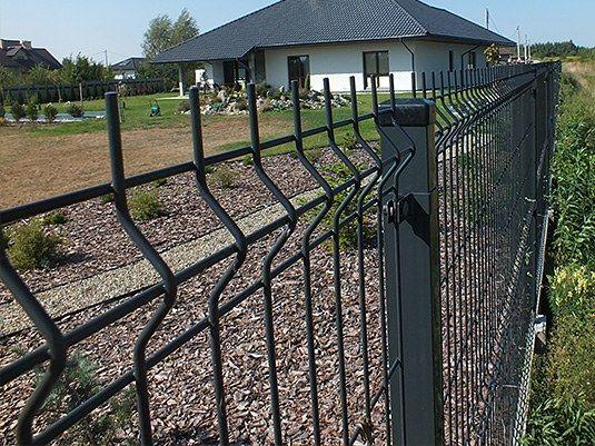 Ogrodzenie panelowe Panele ogrodzeniowe - Rawicz