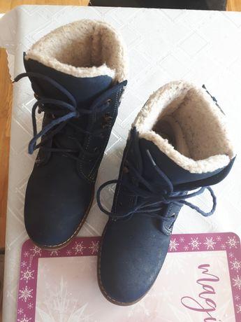 Buty zimowe mało używane