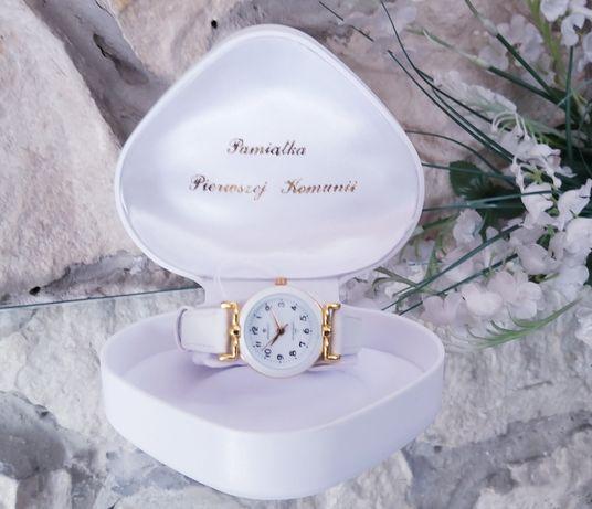 Zegarek Pamiątka I Komunii świętej dla dziewczynki, Zegarek Perfect