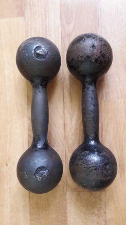 Советские гантели по 4 кг.