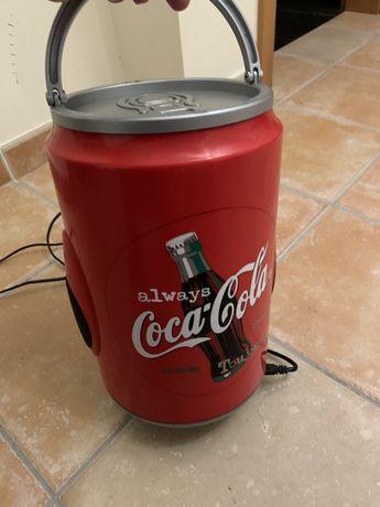 Aparelhagem Radio cassetes old vintage Coca cola