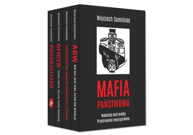 Mafia Państwowa Wojciech Sumliński - Pakiet 4w1 Wojciech Sumliński