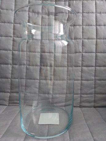 Wazon ozdobny ze szkła