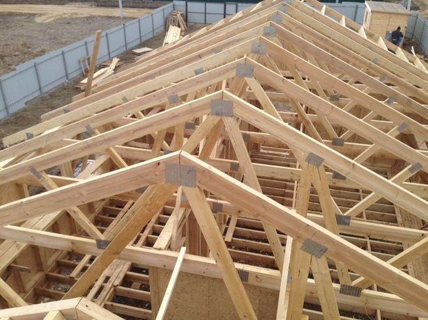 Ремонт крыши, монтаж кровли (от мелкого до капитального от 200гр м2)